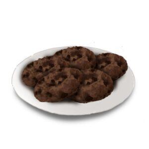 Cookies suaves de chocolate