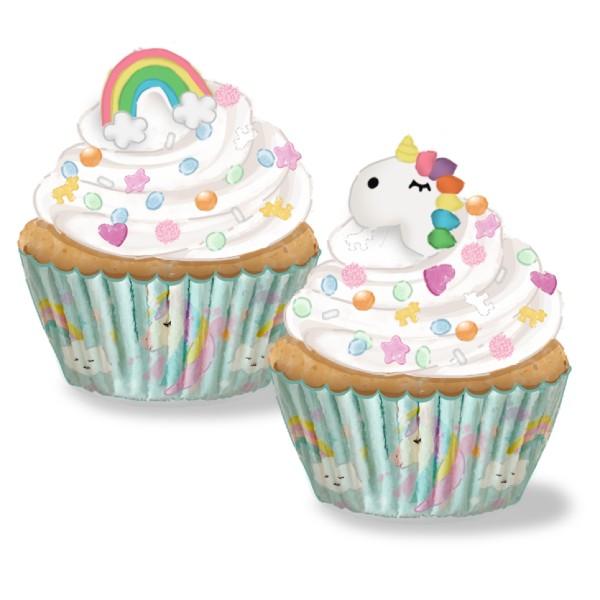 cupcake unicornio nueva deco