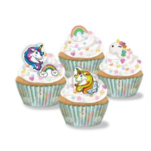 Kit Cupcakes Mixto Unicornio