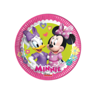Pack 8 Platos Minnie Mouse
